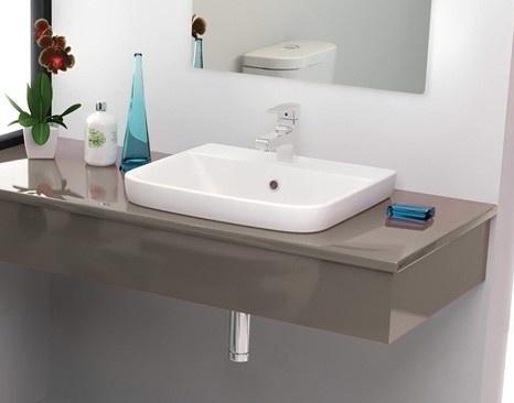 porcher cygnet semi inset basin  Bathrooms  Pinterest