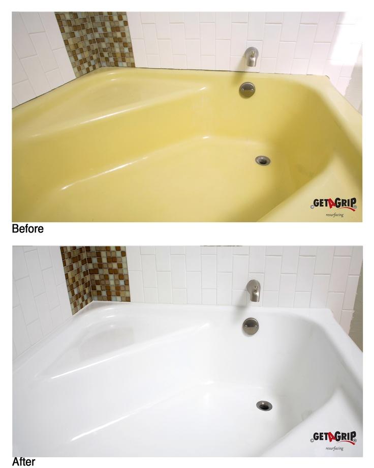 17 Best ideas about Resurface Bathtub on Pinterest  Tub