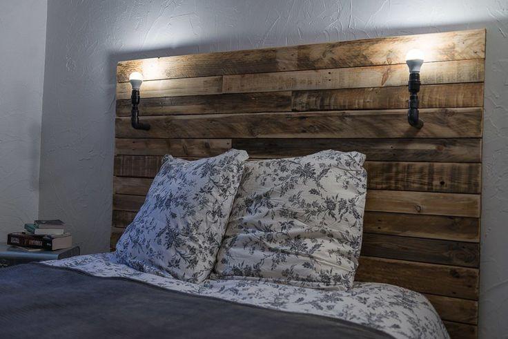 Tte De Lit Pallet Bed Headboard Pallet Ideas Unique