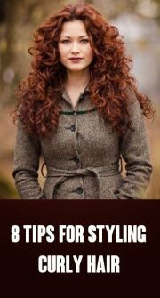 #beauty 8 tips styling curly