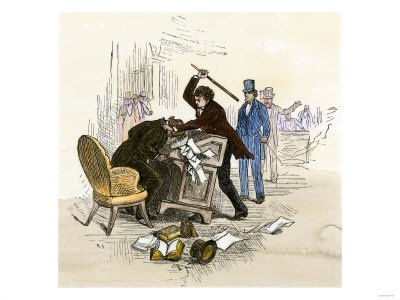 1000 Ideas About Caning Of Charles Sumner On Pinterest