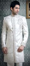 white sherwani for men | My Indian wedding | Pinterest ...