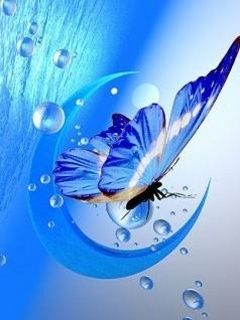 Cute Wallpapers With Quotes For Facebook Cover Butterflies 3d 3d Butterfly Mobile Wallpaper Beautiful