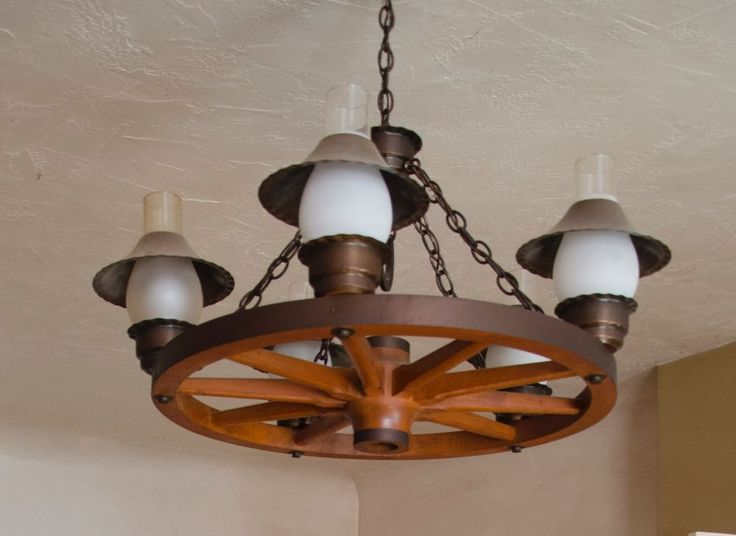 1000 ideas about Wagon Wheel Chandelier on Pinterest
