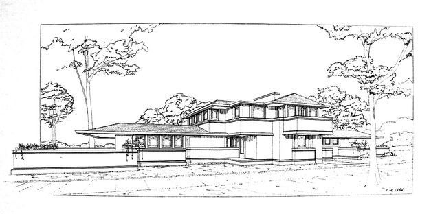 1000+ images about Frank Lloyd Wright- Prairie Houses on
