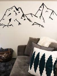17 Best ideas about Tape Wall Art on Pinterest