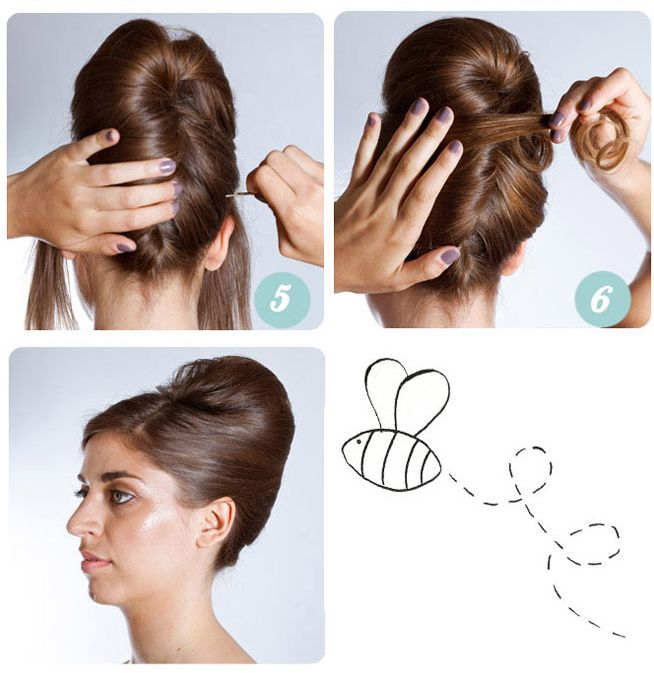 46 Best Images About Beehive Hairstyles Updo On Pinterest Updo
