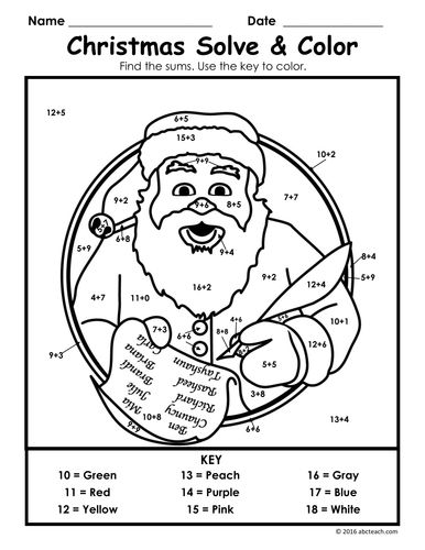 437 best images about Christmas Math Activities on