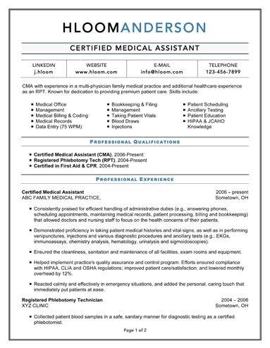 CertifiedMedicalAssistant  Work Work Work  Pinterest