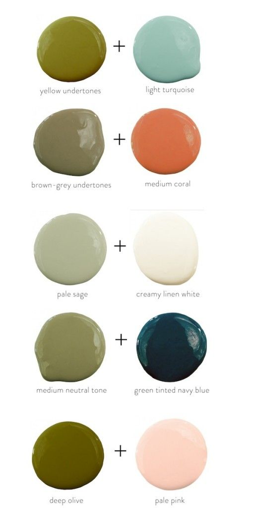 colors that pair well with olive green: