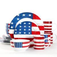 Gibson Home Regent Americana 16-piece Dinnerware Set ...