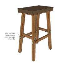 Easy Bar Stool Plans - WoodWorking Projects & Plans
