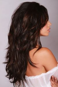 Adding a deeper chocolate brown hair color or adding deep ...