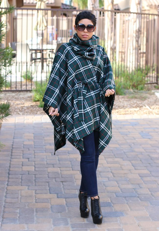 DIY Belted Poncho Amp Removable Neck Warmer Pattern Review