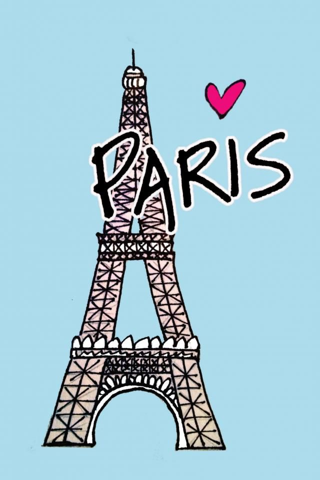 Paris Wallpaper Cute Blue Impremedia Net