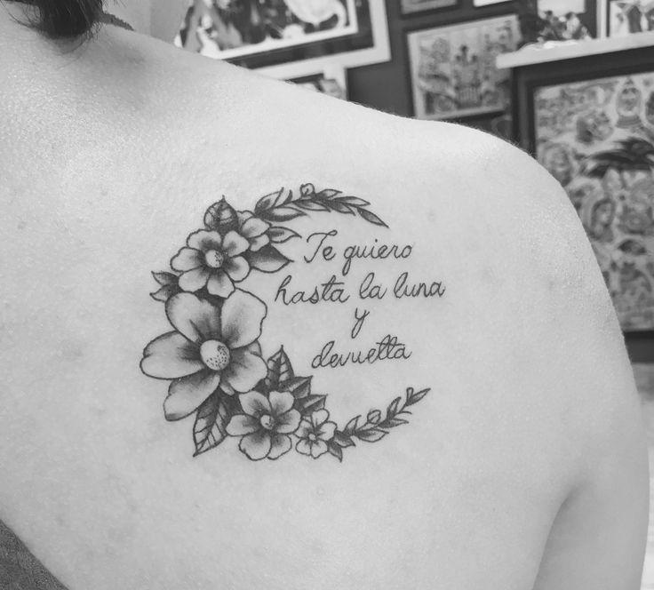 Moon You Ideas I And Love Back Tattoo