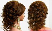 arabic wedding hairstyle medium