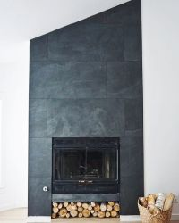 25+ best ideas about Slate fireplace on Pinterest | Slate ...
