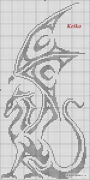 25+ best ideas about Dragon cross stitch on Pinterest