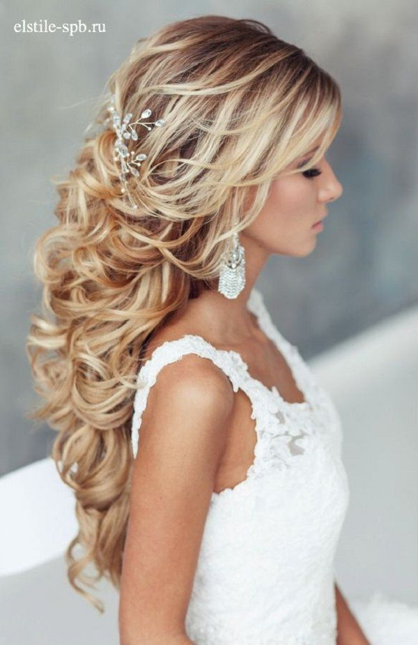 25 Best Ideas About Curly Wedding Hairstyles On Pinterest Curly