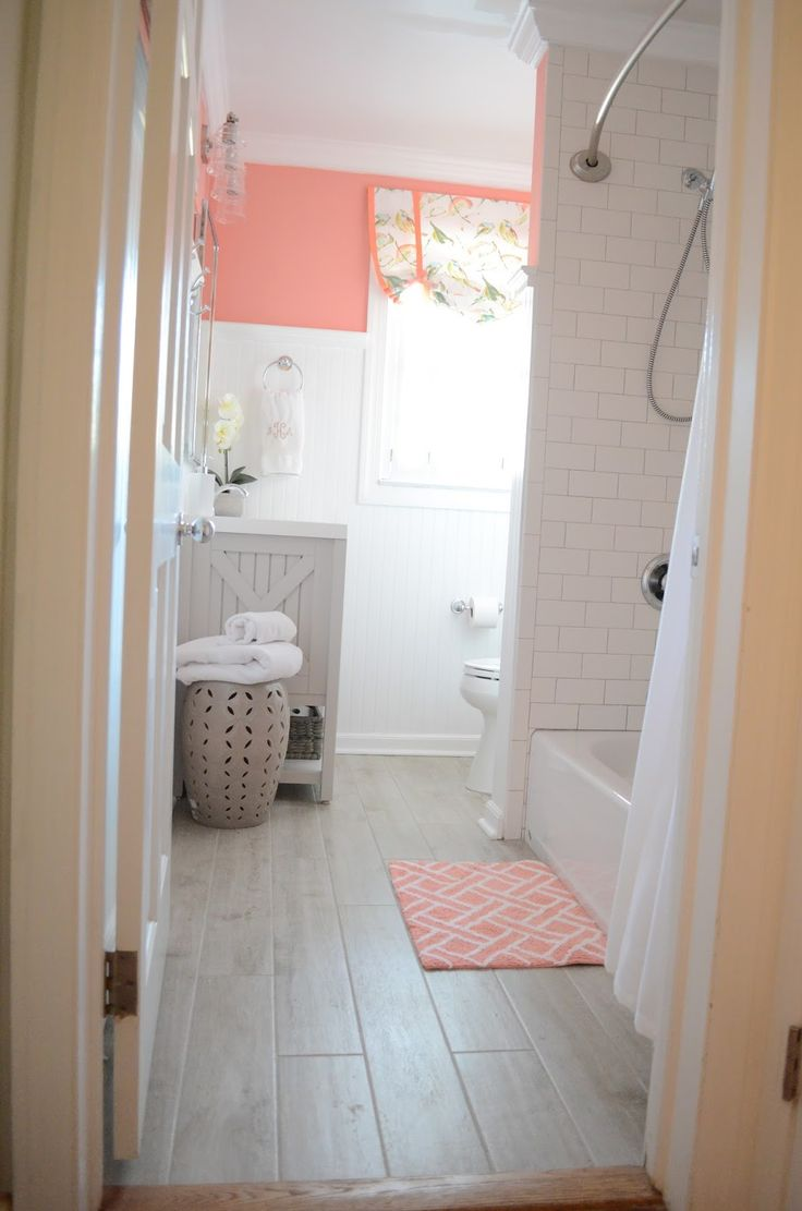 25+ best ideas about Coral Bathroom on Pinterest