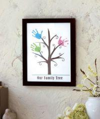 Framed Handprint Wall Art | ABC Distributing: Grandparent ...