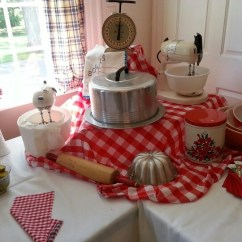 Kitchen Themed Bridal Shower Caddy Retro Shower! [lauren's 50's Housewife ...
