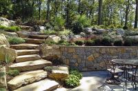 Natural Boulder / Step Creations | Femia Landscaping ...