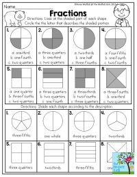 Best 25+ Fractions of shapes ideas on Pinterest | Math for ...