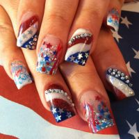 517 best images about 4th of July nail art on Pinterest