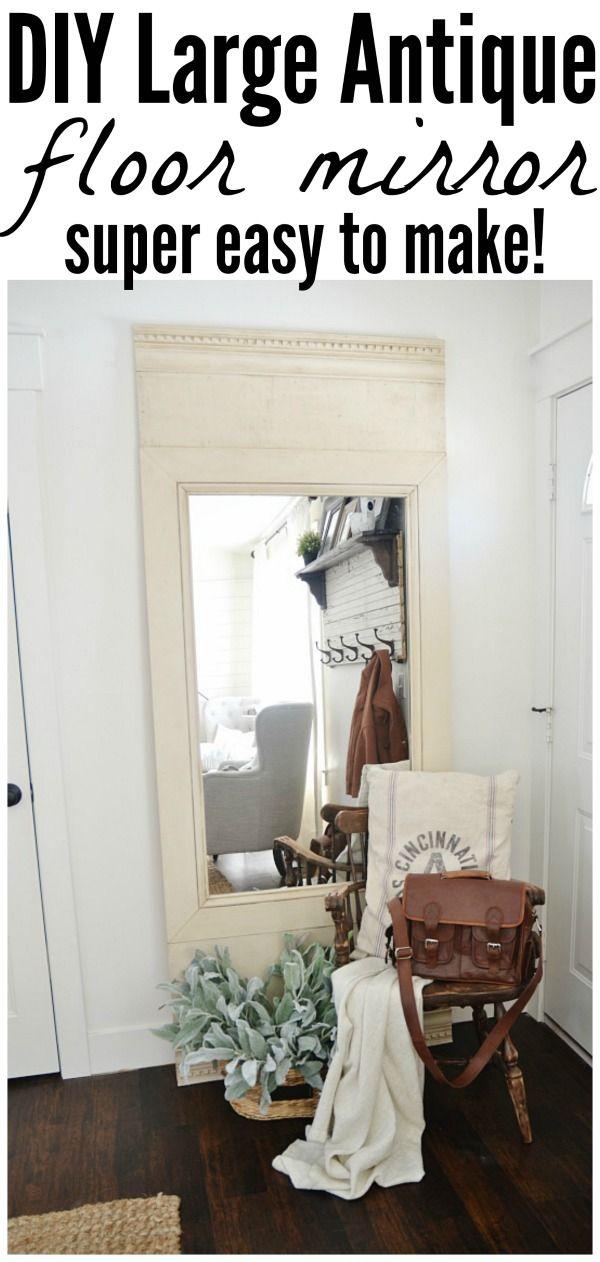25+ best ideas about Large Floor Mirrors on Pinterest