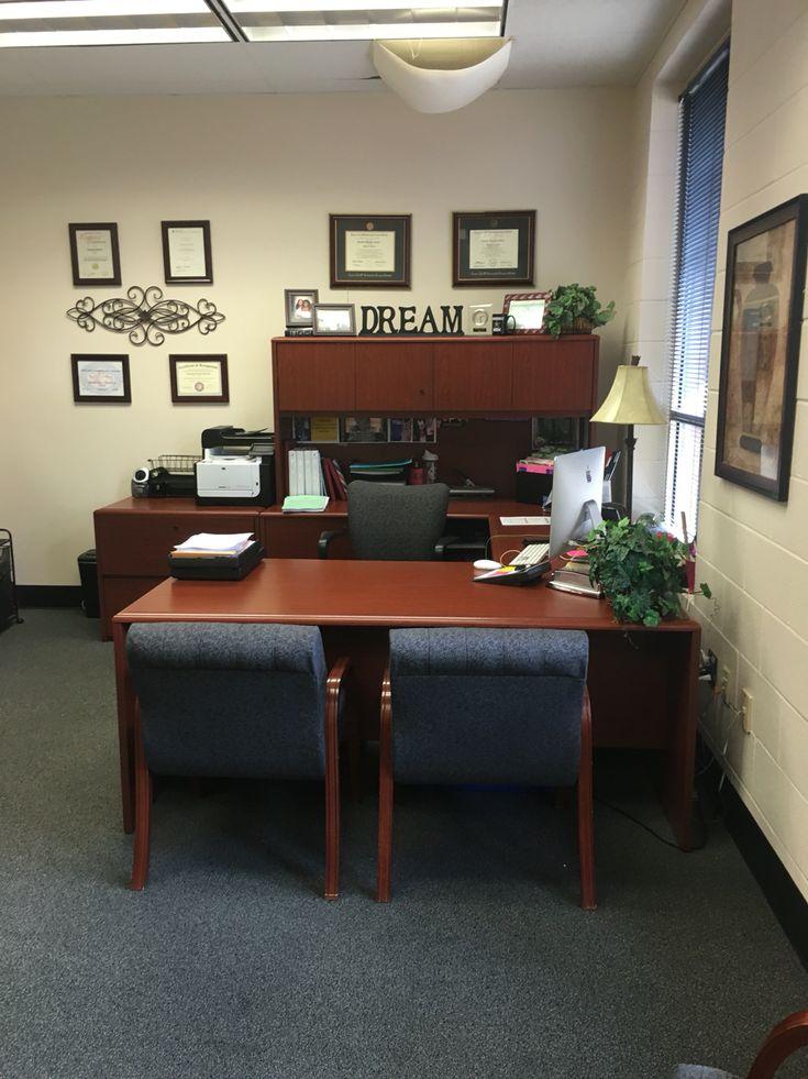 Principals office decor make over  office decor  Pinterest  Principal