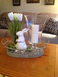 Coffee table arrangement. | Decorating for Spring ...