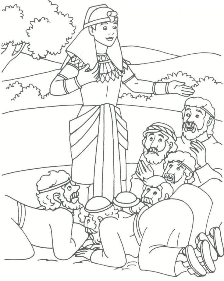 Joseph Dreams Coloring Pages Coloring Pages