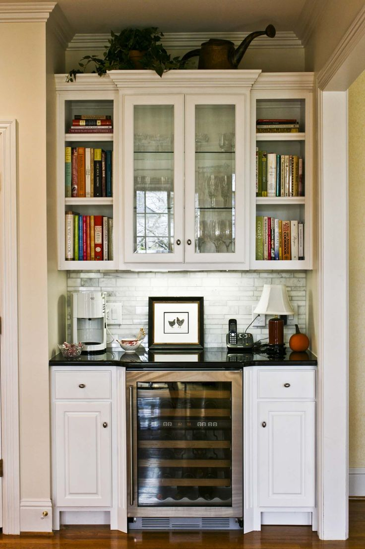 13 best images about Wet Bars or Butlers Pantry on Pinterest  In august Metallic gold and