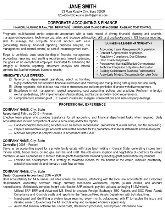 Click Here To Download This Accounting And Finance Resume