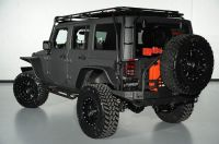 custom-roof-rack-and-rear-bumper-of-2014-jeep-wrangler ...
