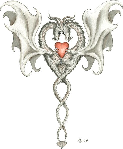 """two dragons in love dragon art"""""""