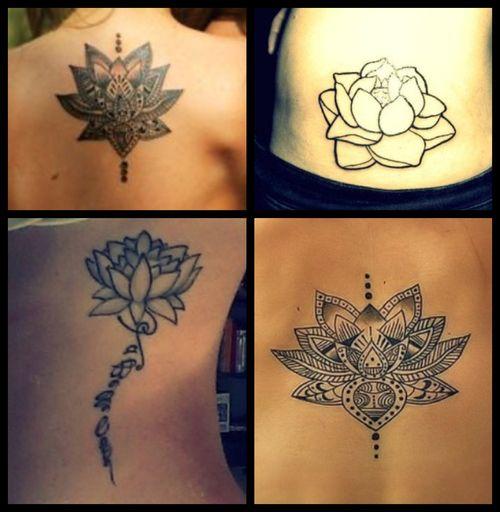 Bomb Tattoo Lotus Flower