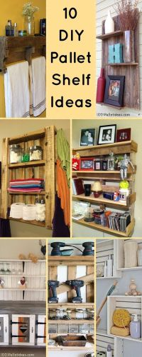 25+ best ideas about Pallet shelves on Pinterest | Pallet ...