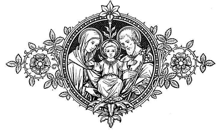 18 best Catholic Line Art images on Pinterest