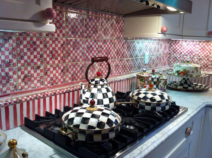MackenzieChilds kitchen  Decor  Pinterest  Kitchens