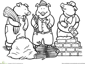 109 best 3 Little Pigs images on Pinterest