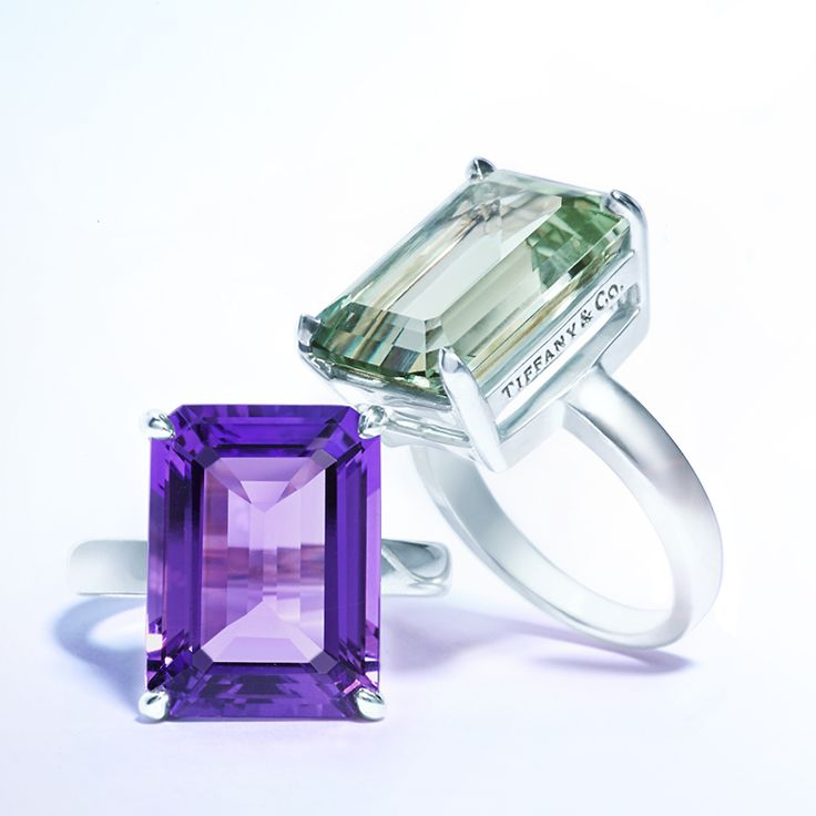 A wise woman once told me, on your fingers diamonds can never be too big. Tiffany and Co Kunzite and Diamond ring. #jewelry