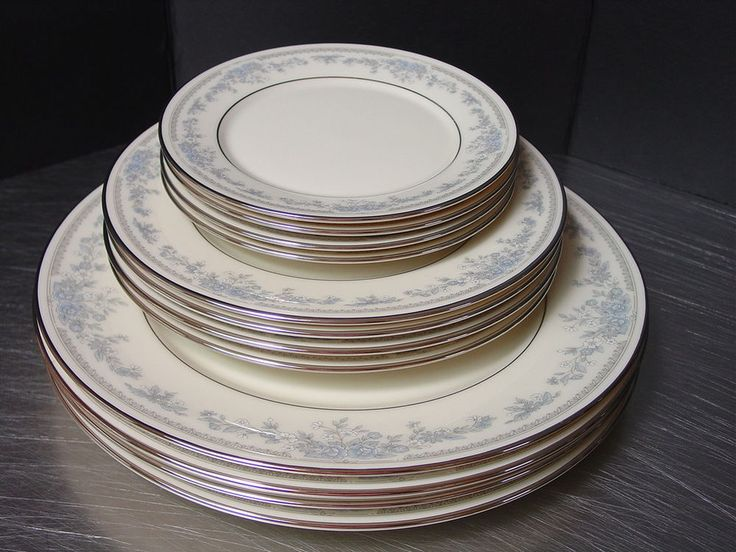 Lenox Reverie Fine China Dishes Cosmopolitan Collection