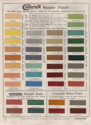 colonial paint colors revival interior exterior schemes palette colour circa 1915 doors most gray victorian trim think charts historic colours