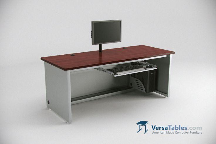 Enclosed Versa Desk  CD Series By Versa Tables  Enclosed