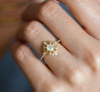 25+ best ideas about Vintage opal rings on Pinterest ...