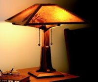 Wood Mission Lamp Plans - WoodWorking Projects & Plans
