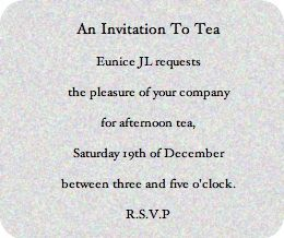 59 best Invitations To Tea images on Pinterest